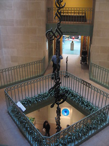 At the Smithsonian's Arthur M. Sackler Gallery (3/13/11)