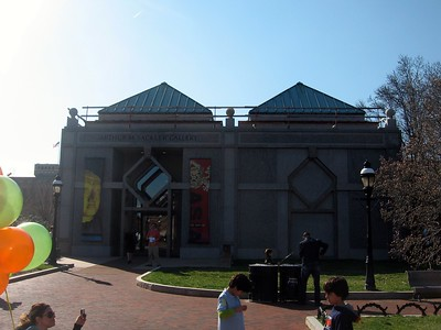 Entrance to the Smithsonian's Arthur M. Sackler Gallery (3/13/11)