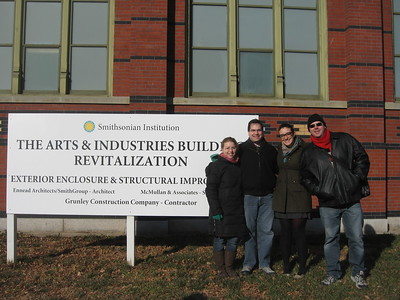 The Smithsonian's Arts and Industries Building (closed indefinitely for renovation) (1/23/11)
