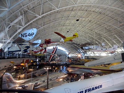 Inside the Smithsonian's National Air and Space Museum Steven F. Udvar-Hazy Center (3/20/11)