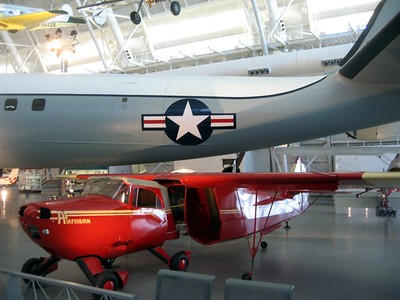 A Fulton FA-2 Airphibian (convertible aircraft-automobile), at the Smithsonian's National Air and Space Museum Steven F. Udvar-Hazy Center (3/20/11)