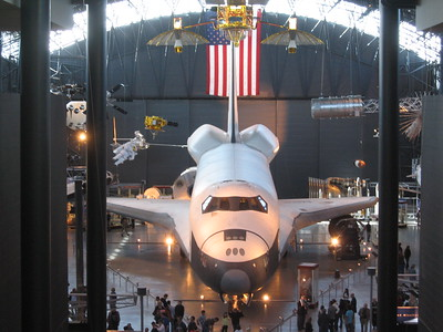 Space Shuttle Enterprise, at the Smithsonian's National Air and Space Museum Steven F. Udvar-Hazy Center (3/20/11)