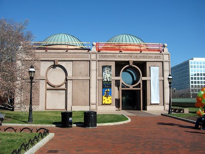 Entrance to the National Museum of African Art (3/13/11)