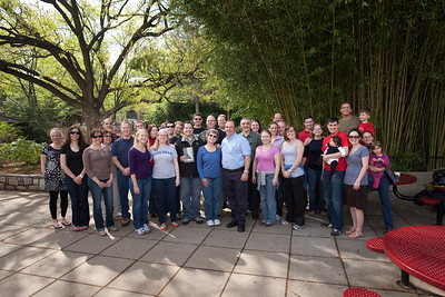 Some of the 63 people who participated in the quest.  Photo by Alex Perry. (4/23/11)