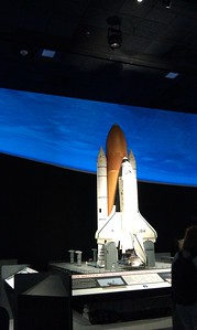 Model of the Space Shuttle at the National Air and Space Museum