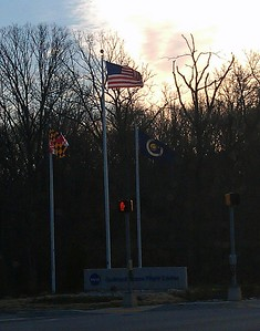 Entrance to NASA's Goddard Space Flight Center