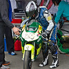Celtic racing riders prepares for session