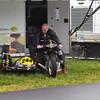 Vintage class sidecar racer