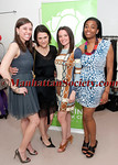 Stephanie Owens, Christina Vescovo, Kristin Blumm Dougherty, Bosede Opetubo attend NYRP's 5th Annual Buds Bash on Thursday, April 21, 2011 at Café Kristall, 70 Mercer Street, SOHO, New York City  PHOTO CREDIT: Copyright ©Manhattan Society.com 2011 by Christopher D. M.London