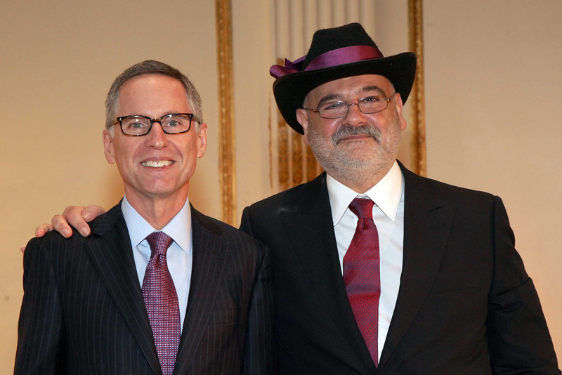 Photo 2 - Dr  William Carroll and event honoree Dr  Abraham Chachoua