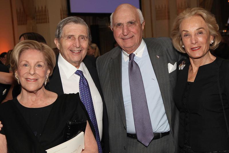 Sandra and Ed Meyer, Ken and Elaine Langone