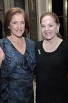 Dr  Elisabeth Cohen and Laura Perlmutter