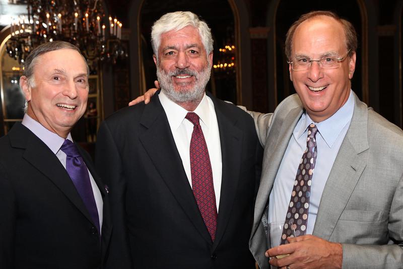 Dr  Robert I  Grossman, Robert Benmosche, Larry Fink