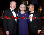Martin Lipton, Susan Lipton, Richard W. Tsien, DPhil, the Druckenmiller Professor of Neuroscience attend NYU Langone Medical Center's 2011 Violet Ball on Thursday, May 4, 2011 at Cipriani 42nd Street, 110 East 42nd St New York, NY 10017  PHOTO CREDIT: Copyright ©Manhattan Society.com 2011