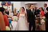 Nadine and Ryan recessional