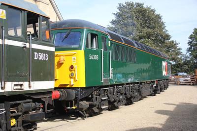 56303 at Wansford.