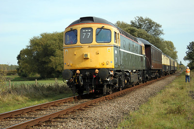 D6586 (33201) South of Wansford.