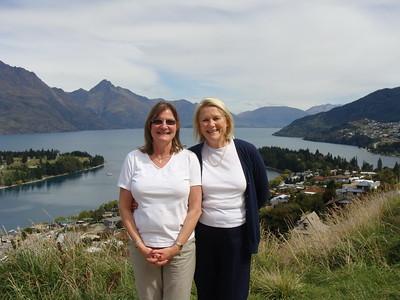 Karen & Ann in Queenstown - Jerry Strokus
