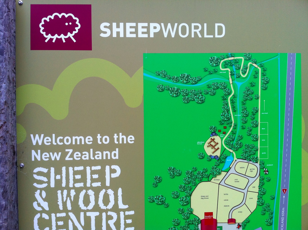 Sheep World!