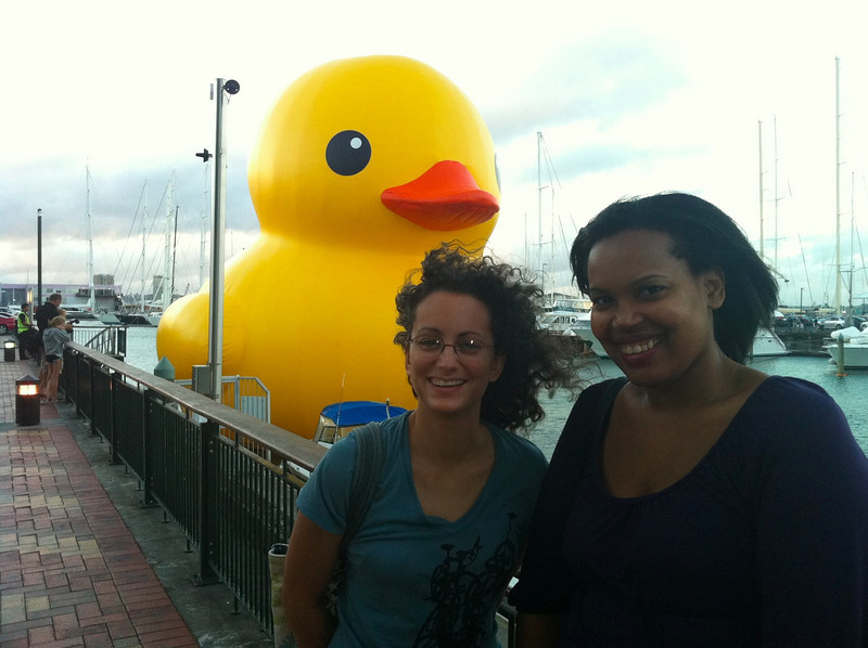 Sherry and Liz and Duck