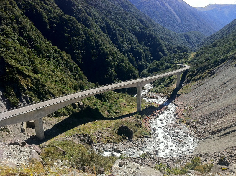 Bridge near Arthur's Pass