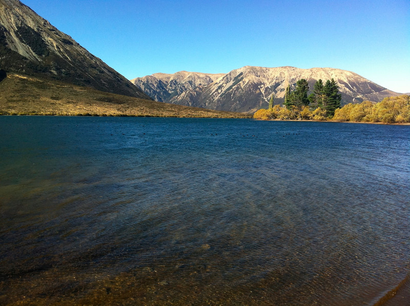 Lake near Arthur's Pass