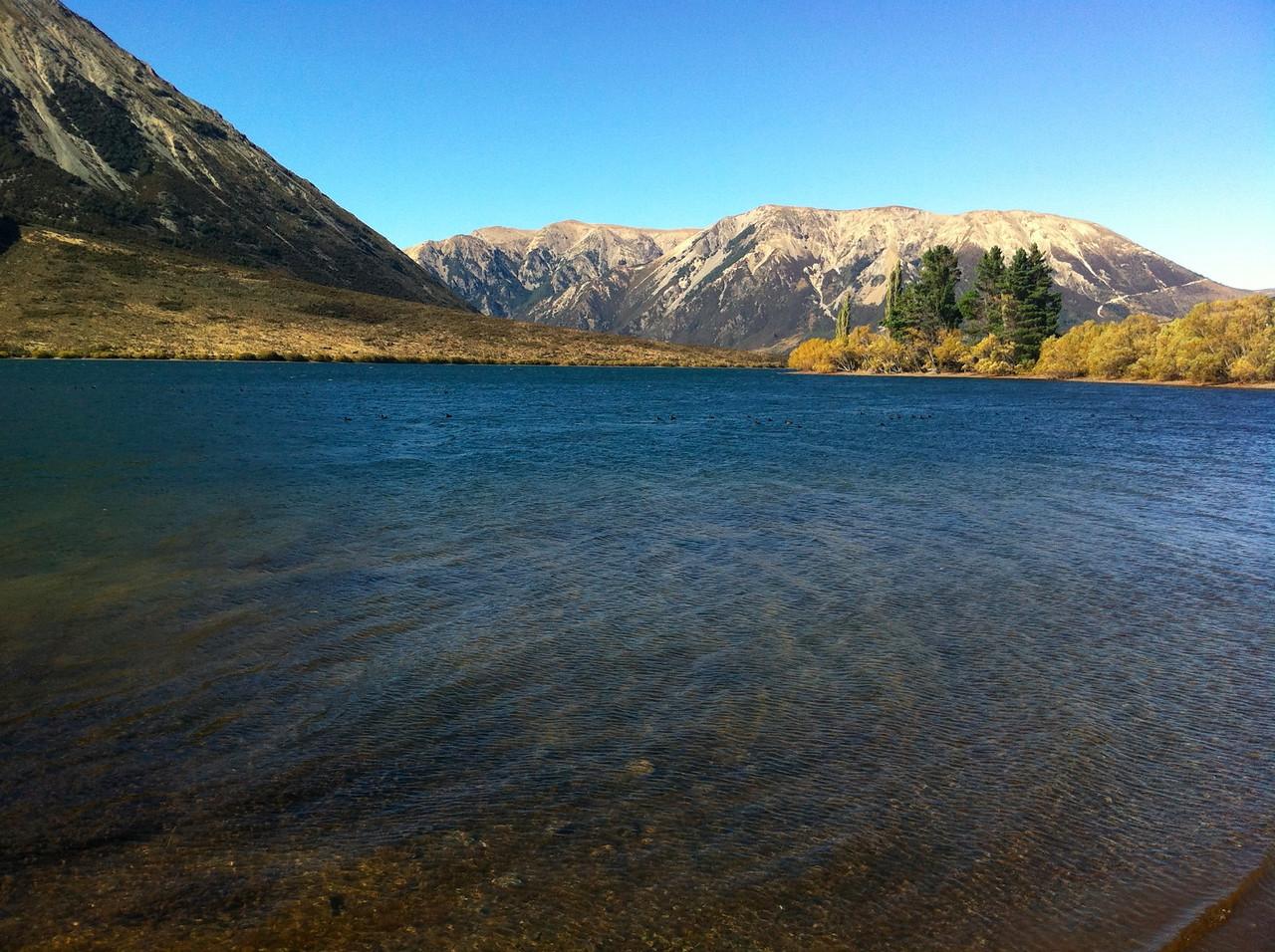 Lake near Arthur's Pass