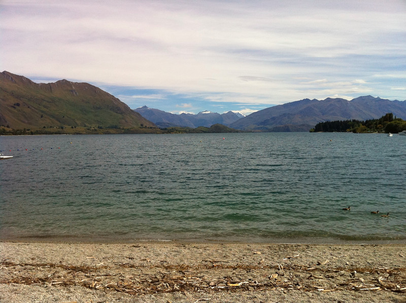 Lake Wanaka, afternoon
