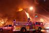Newark 1-9-11 : Newark 3rd alarm at 77 Lincoln Park on 1-9-11.