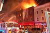 Newark 8-13-11 - 1 : Newark 4th alarm + at 198 Ferry St. on 8-13-11.