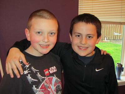 Noah and Carson