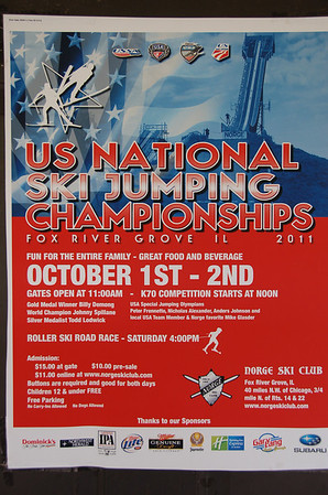 US Nationals Championships for Ski Jumping & Nordic Combined:  Official Training - September 30, 2011