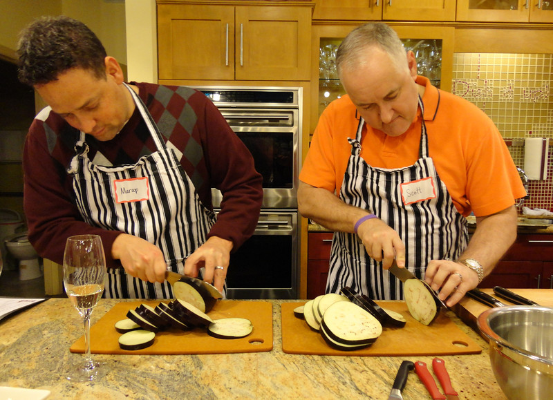 """Check Marcop and Chef Scott - not getting """"chopped."""""""