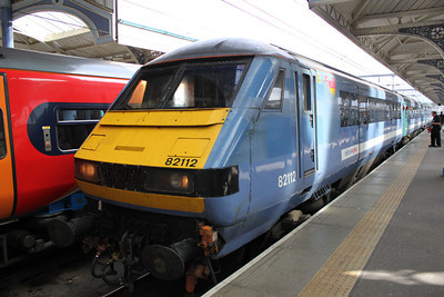 82112 at Norwich Station