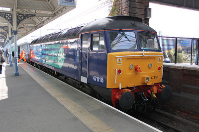 47818 on arrival at Norwich.