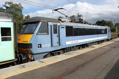 90004 arrived at 1351 Liv.St-Norwich service.