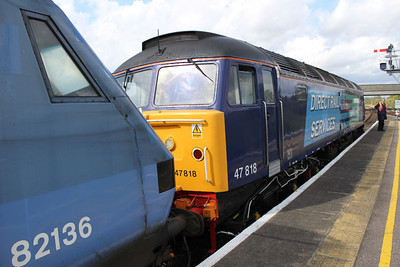 47818 coupling up to 82136 for the drag back to Norwich.