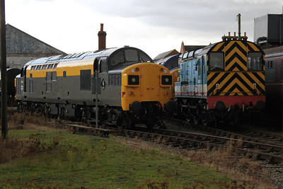 37003 and 08631 at 'The Mid Norfolk Railway'