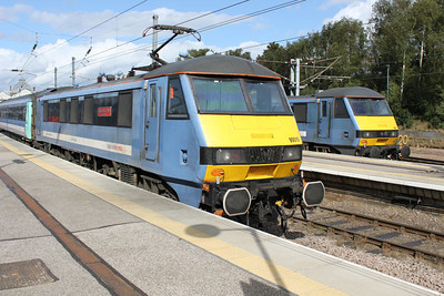90010 and 90011 Norwich Station