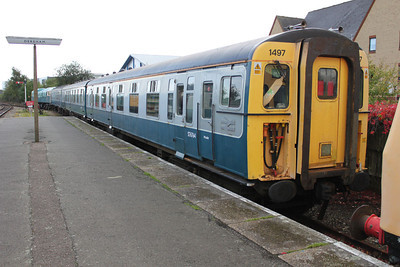 SR EMU 1497 at 'The Mid Norfolk Railway' 17/09/11