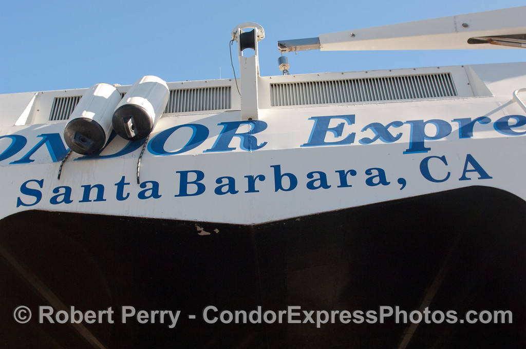 Condor Express hauled out 2011 11-25 - Ventura Hbr - 086