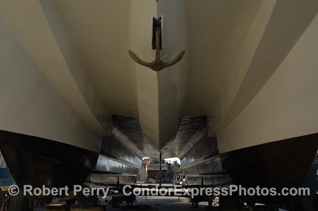 Condor Express in boat yard 2011 12-04 Ventura Hbr - 054