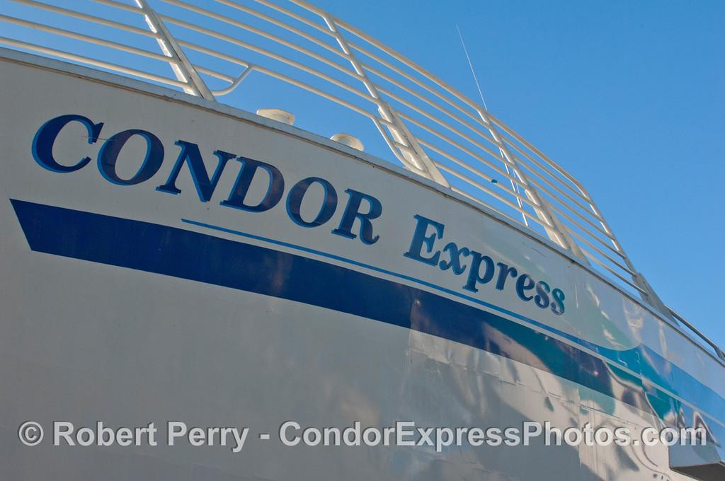 Condor Express hauled out 2011 11-25 - Ventura Hbr - 058