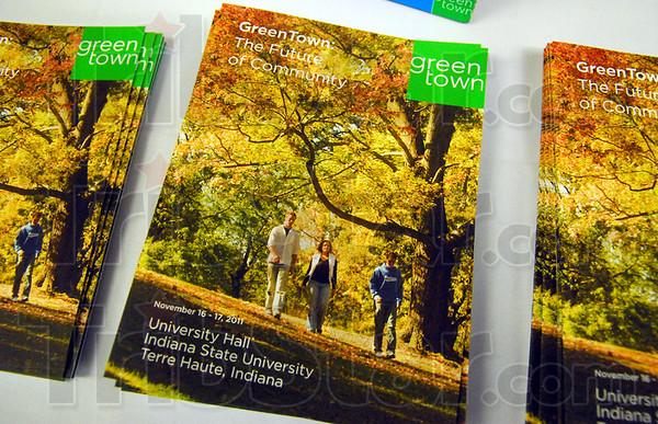 Greentown: Detail photo of Greentown U.S.A. handouts.