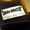 Smoke monster: Detail photo of Marlboro man hat.