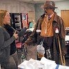 Marlboro man: Dr. Chandra Reddy talks about smoking with Alia Hazel, Program Director of Tobacco Prevention and Cessation for C.H.A.N.C.E.S. for Indiana Youth during his visit to Regional Hospital Thursday afternoon.