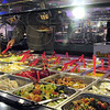 Buffet: Teppanyaki Grill customers fill their plates on Thanksgiving Day.
