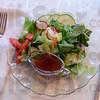 Stella's salad: Detail photo of salad.