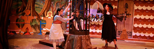 Engelbert Humperdinck's Hansel and Gretel, Fall 2011 opera production in Dover Theater on the campus of Gardner-Webb University.