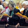 Sing Praise: Hundreds attended Sunday's Thanksgiving Sing Praise at St. Joseph's Catholic Church.